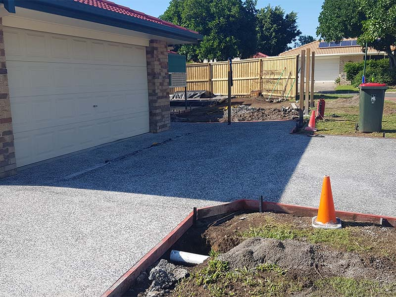 Concrete Paving and Tiling Project