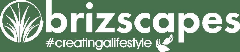 Brizscapes Pty Ltd Logo White