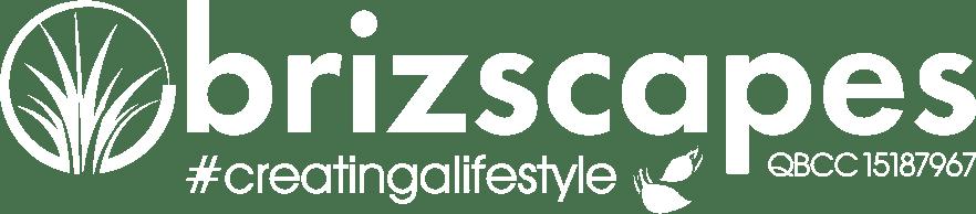 Brizscapes 2021 Logo White