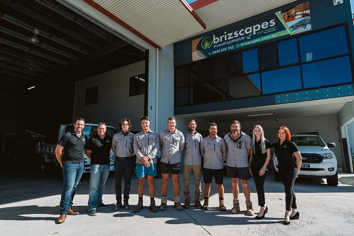 Meet the Brizscapes Landscaping Team