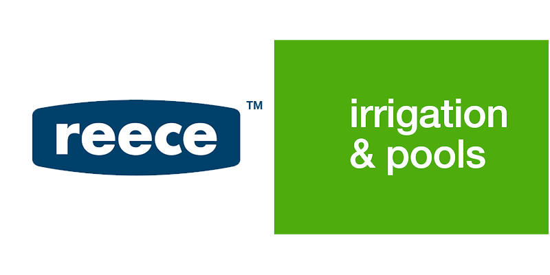 Reece Irrigation and pools logo